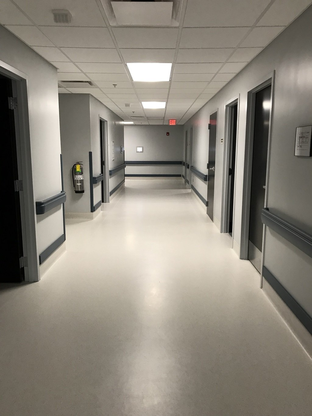 Painted hospital by RAC Pro Painters in South Carolina